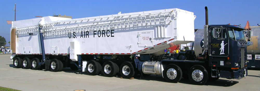 Missile Carrying Truck