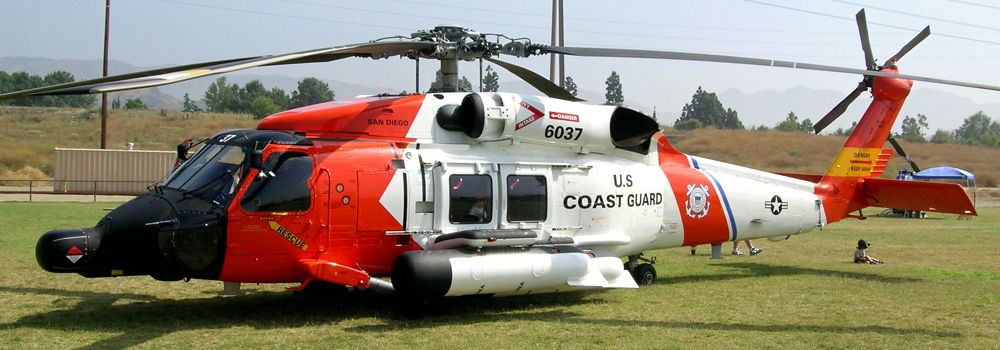 MH-60J - US Coast Guard - Side #6037 BuNo 164821