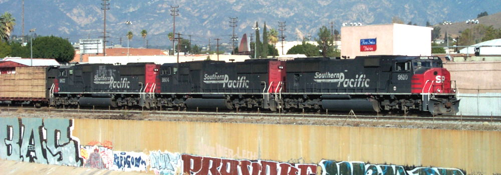 Southern Pacific Train - Los Angeles, CA