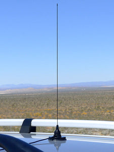 VHF Air (118-136 MHz) 1/4 Wave Mobile Antenna #1
