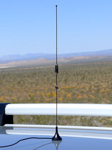 Mini VHF/UHF Scanner Mobile Antenna