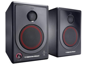 "Self Powered 4"" Radio Monitoring Speakers #1"