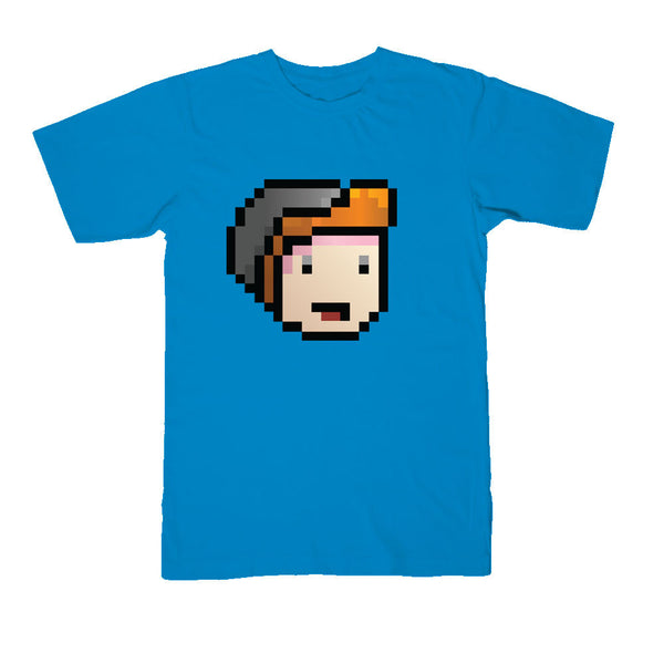 ParkerGames - Face Tee - Teal