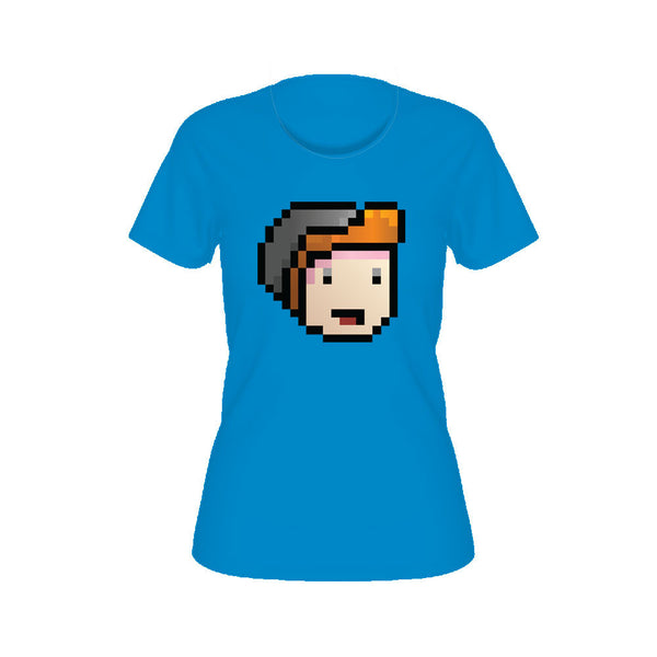 Parkergames - Face Women's Tee - Teal