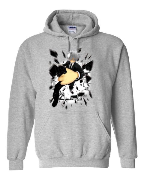 The Anime Man - Burst Hoodie