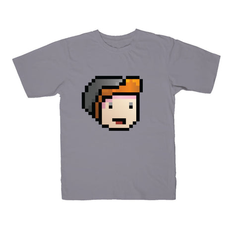 Parkergames - Face Kid's Tee - Slate