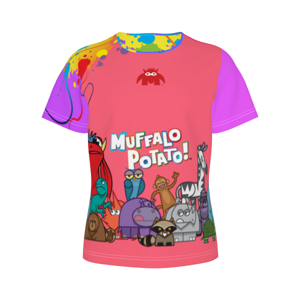 MuffaloPotato - Zoo Party Girl's Tee