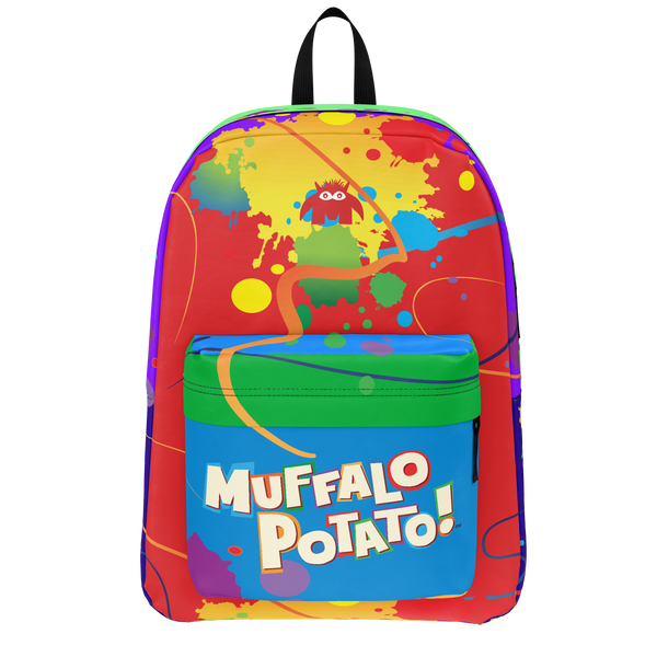 MuffaloPotato - Painted Backpack