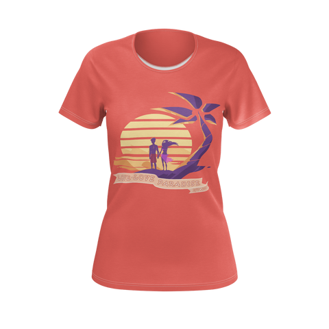 Aphmau - Love Paradise Women's Tee - Pomegranate