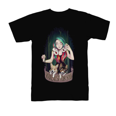SuperMaryFace - You Exist For You - Men's Tee