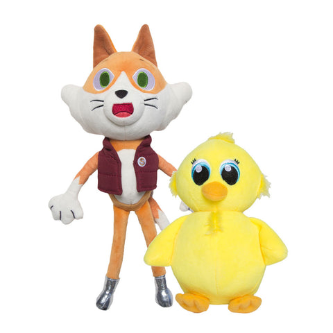 Stampy WonderQuest & Sqaishey Plushie Bundle