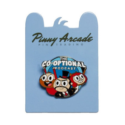 "Co-optional Podcast - PAX ""Pinny Arcade"" Pin"