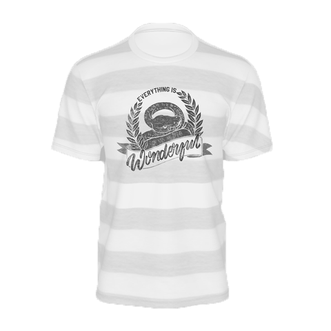 SuperMaryFace - Everything is Wonderful Tee - Striped