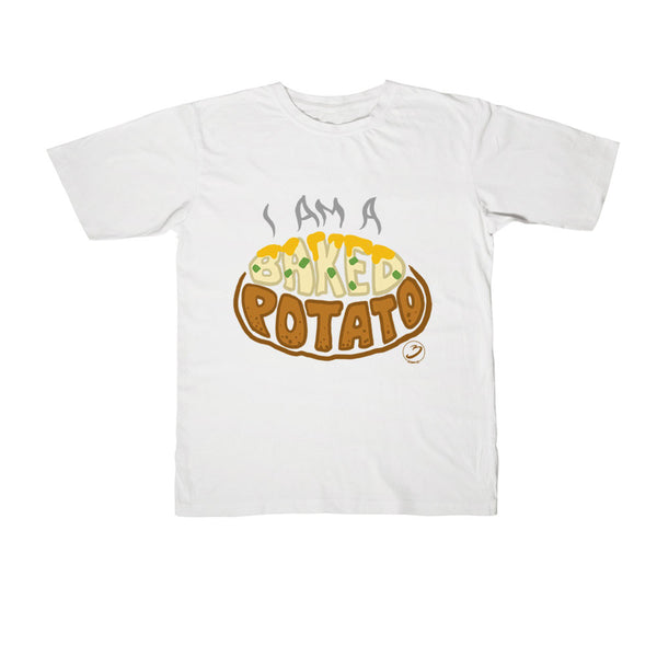 Bratayley - I Am a Baked Potato Youth Tee