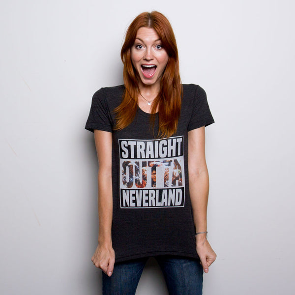 RufioZuko - Straight Outta Neverland Women's Tee