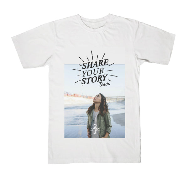 "Alex G - ""Share Your Story"" Tour Tee"