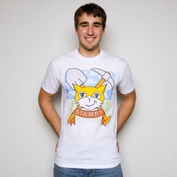 Stampy - Cat Crest Tee - Adult