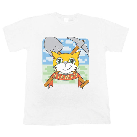Stampy - Cat Crest Tee - Kids