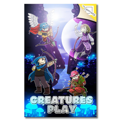 The Creatures Play Towerfall Poster