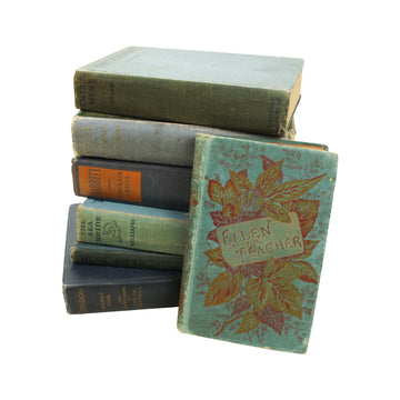 Blue Clothbound Books