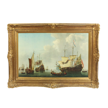 Ornate Ships Painting