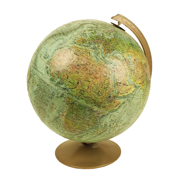 Raised Relief Globe