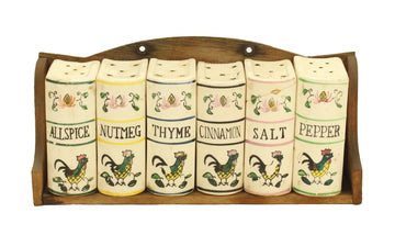Rooster Spice Rack