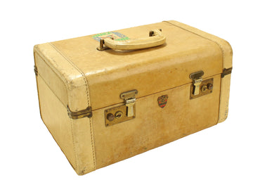 Beige Travel Case