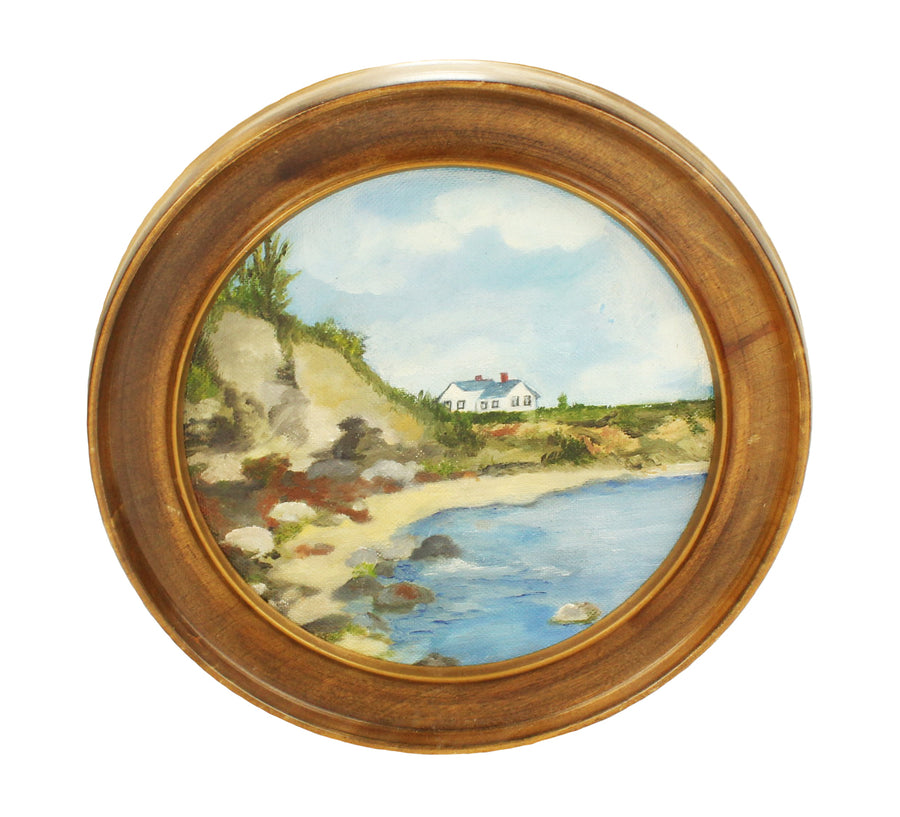 Waterfront Cottage Painting