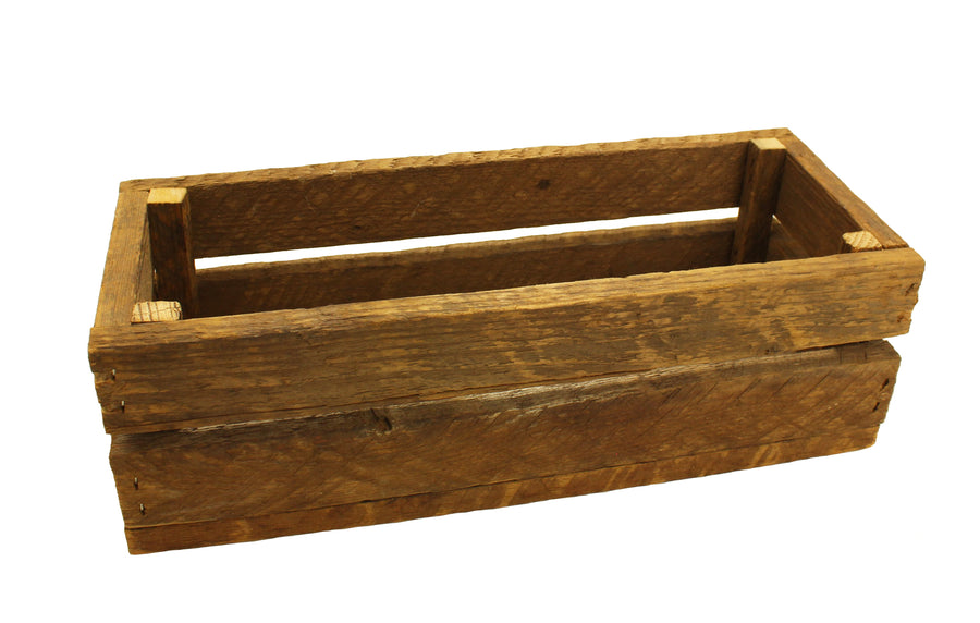 Small Slotted Crate