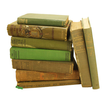 Green Clothbound Books