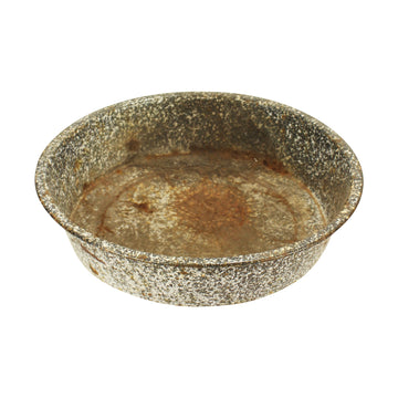 Rusty Enamel Bowl