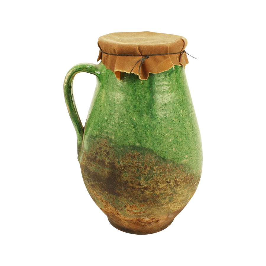 Jug with cloth wrap