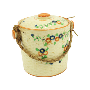 Ceramic Jar with Twine handle
