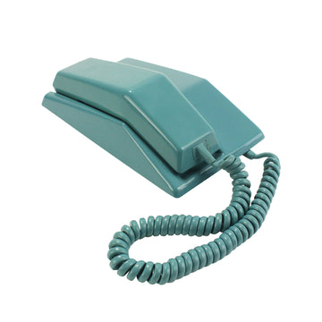 Teal Touch Tone Phone