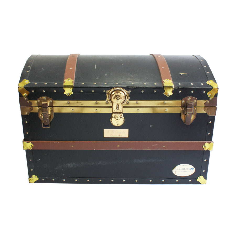 Navy Dome Top Trunk