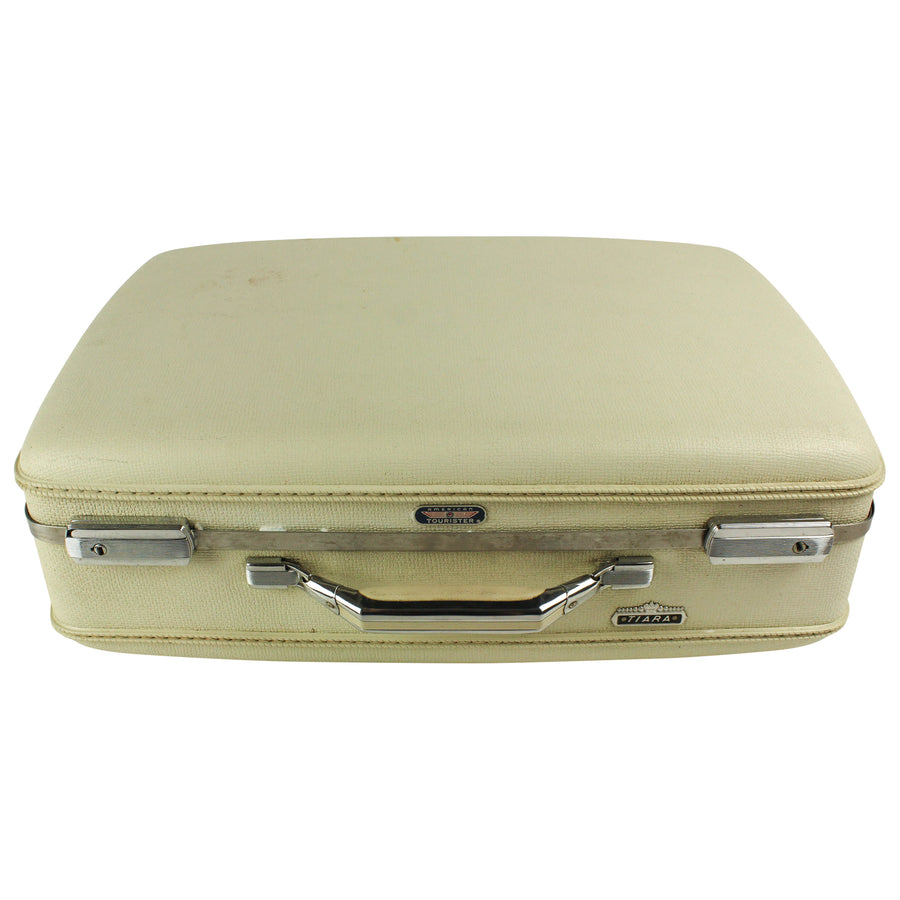 White American Tourister Suitcase
