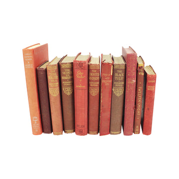 Red Clothbound Books