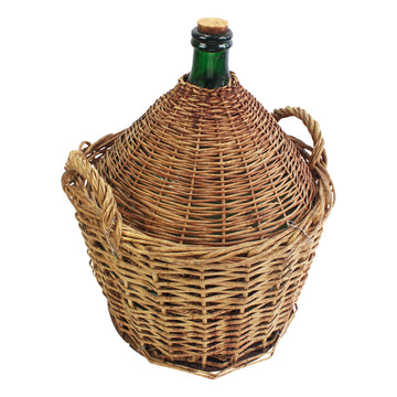 Wicker Wine Jugs