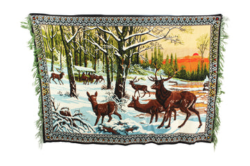 Winter Wildlife Tapestry