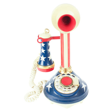 Red, White + Blue phone