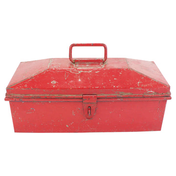 Red Metal Toolbox