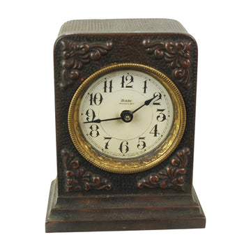 Small Carved Clock