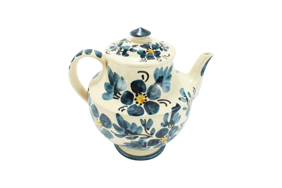 Painted Flower Teapot