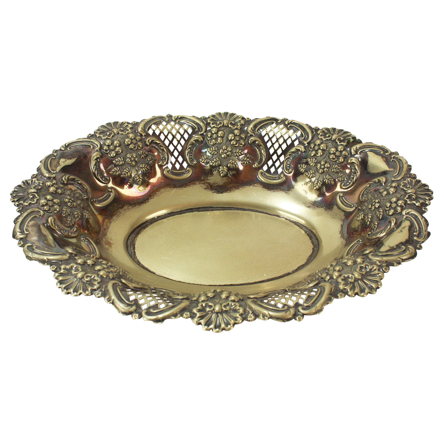 Perforated Silver Platter