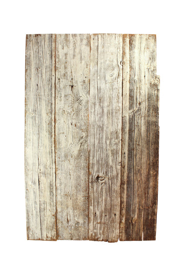 White Painted Barn Board Surface