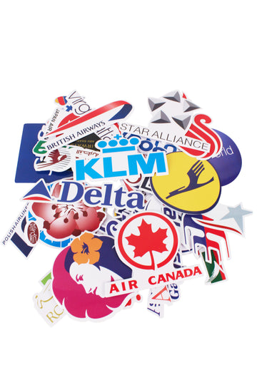 Airline Stickers