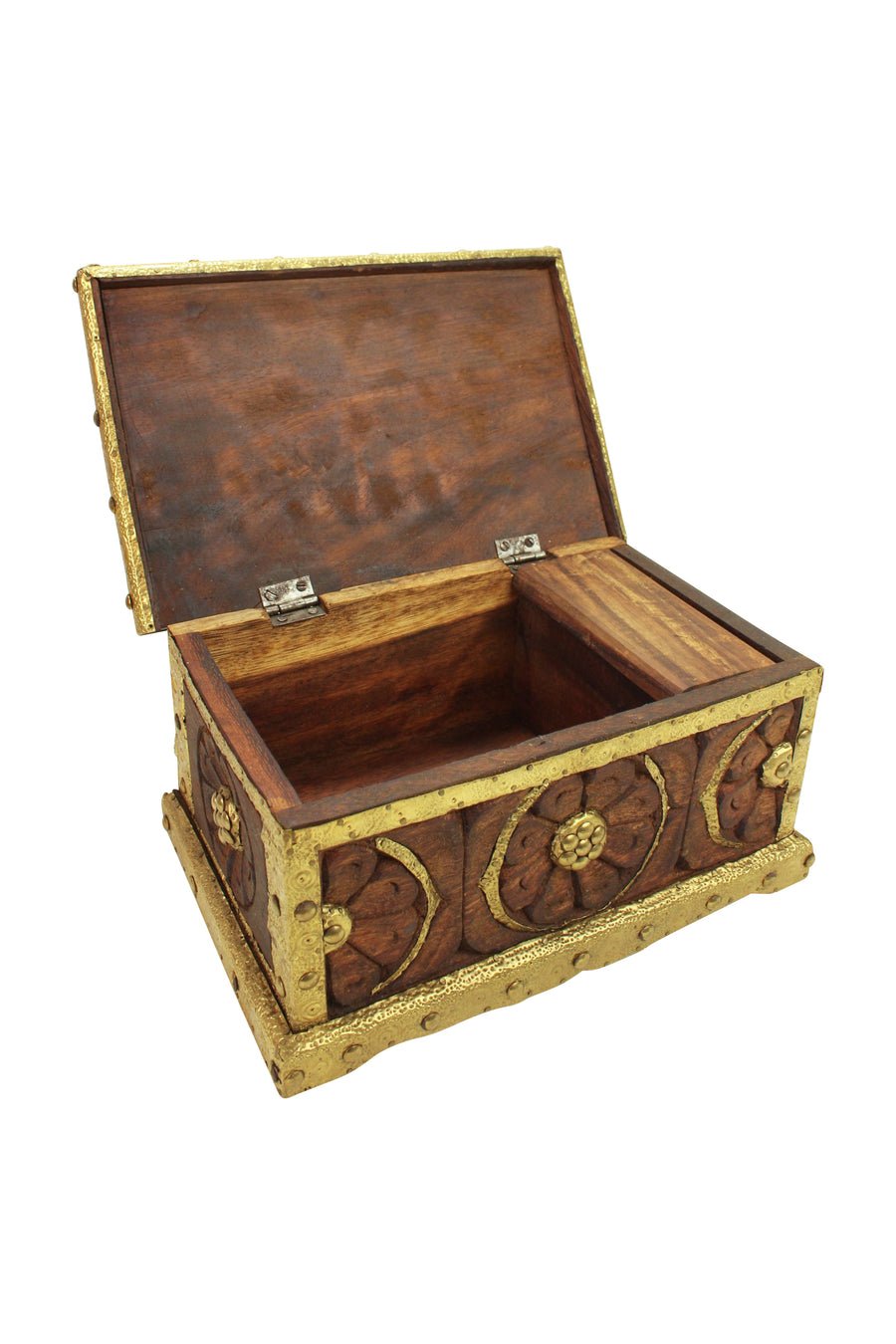 Golden Wooden Box
