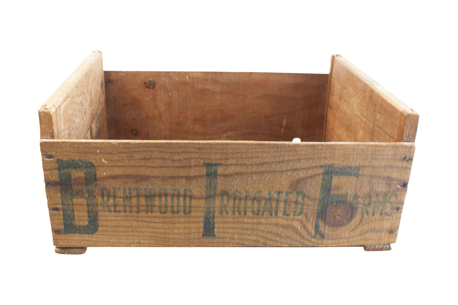 Brentwood Farms Crate