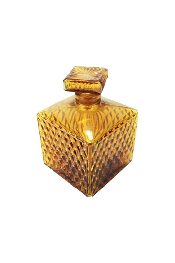 Amber Crystal Decanter
